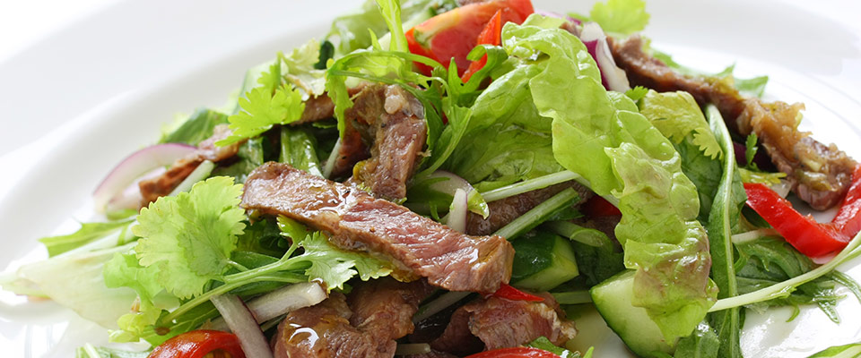 Grilled Steak with Thai Summer Salad • iFit Blog