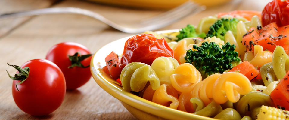 garden pasta salad large