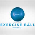 exercise ball thumb