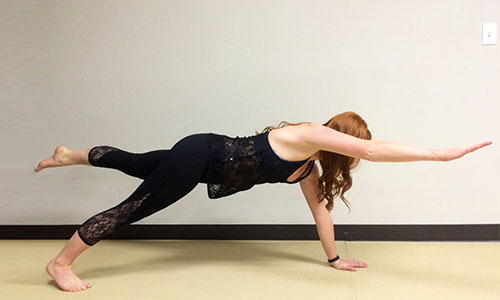 Take Your Plank Pose To A New Level With Variation Thats Challenge Even The Most Balanced Individuals Keep Hips And Reach