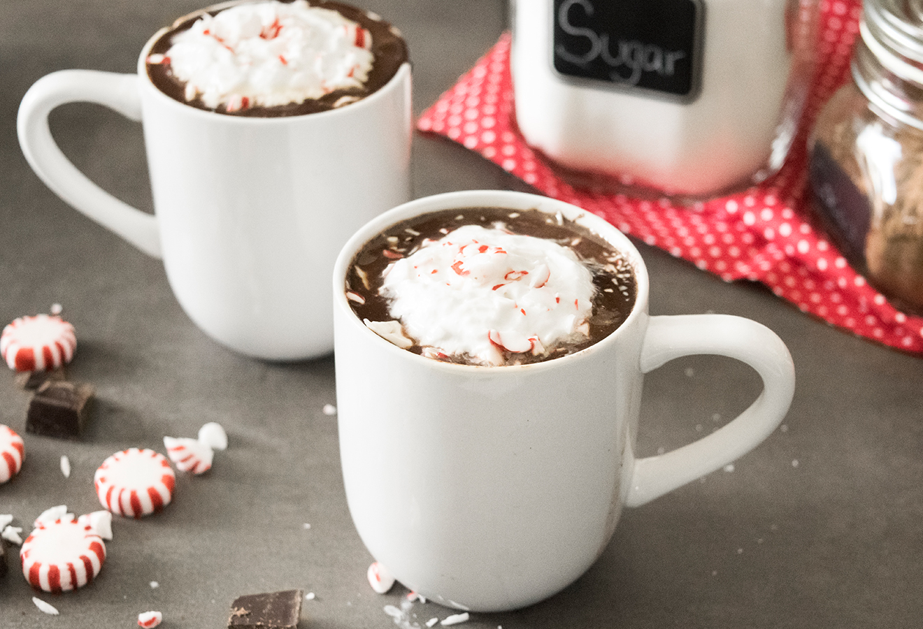 Peppermint Hot Chocolate • iFit Blog