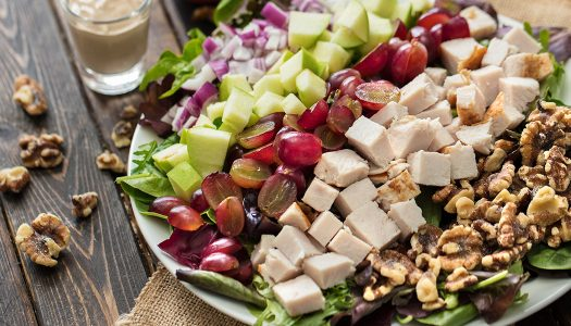 Turkey Walnut Salad