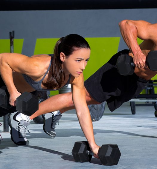 Couples Working out