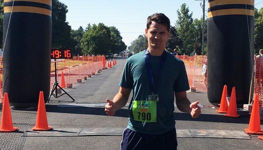 Training for my first half marathon