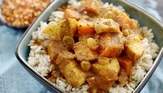 Moroccan Chicken Curry