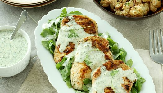 Ranch-rubbed Chicken