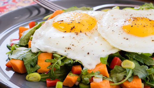Breakfast Scramble Salad