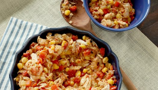 Spicy Chicken and Hominy
