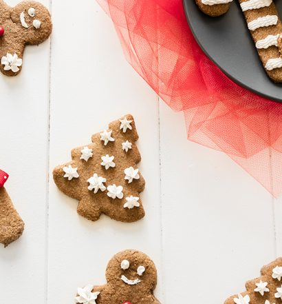 whole grain gingerbread cookies