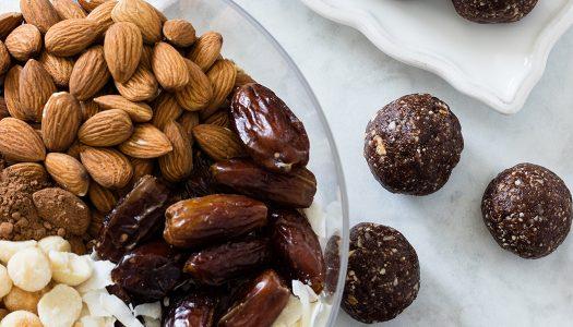 Chocolate Coconut Nut Bites