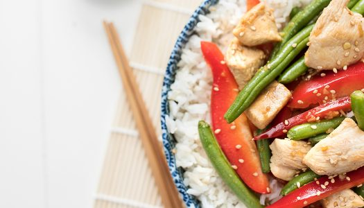 Asian Chicken with Green Beans