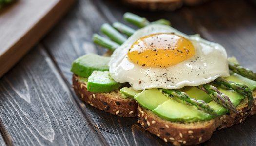 Avocado Asparagus Egg Toast