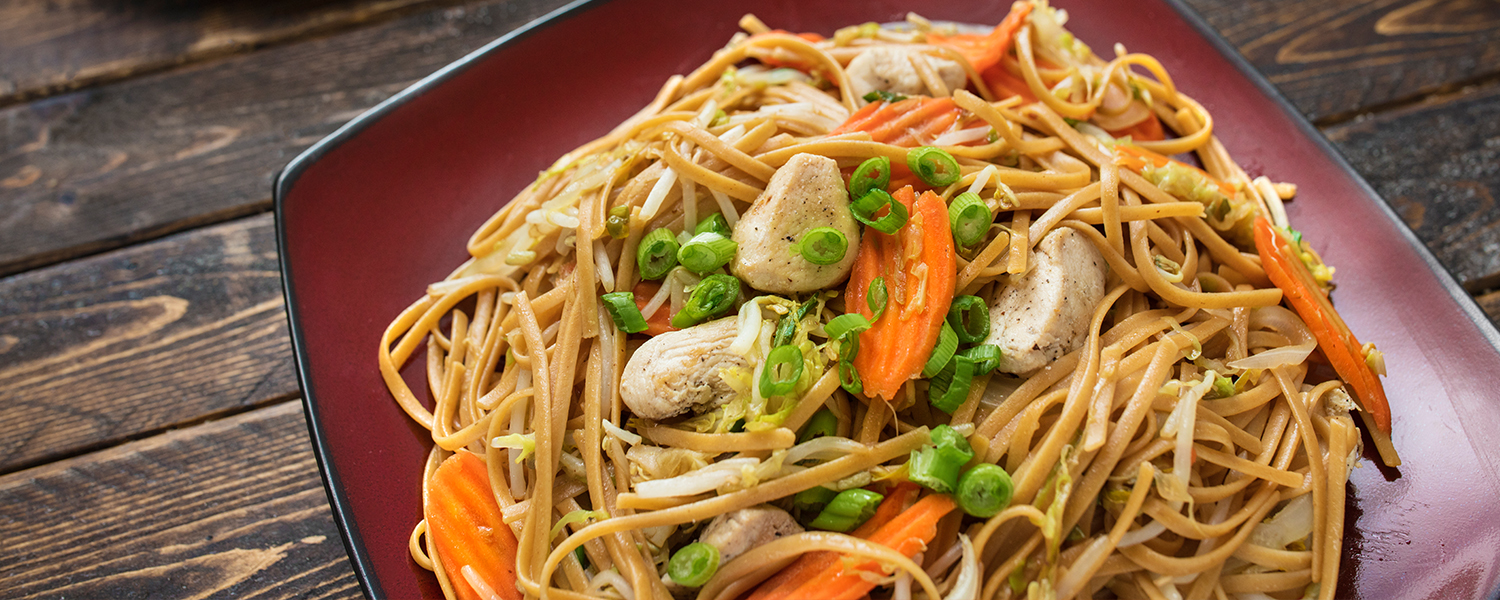 Lo Mein with Chicken