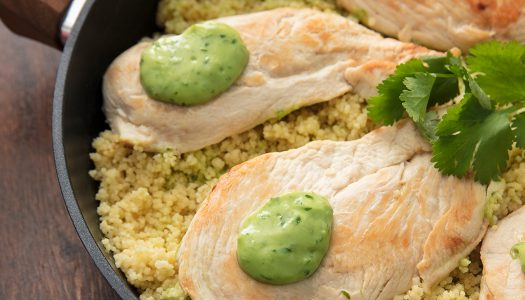 Cilantro Lime Chicken with Couscous