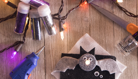 DIY: Halloween Tealight Bats