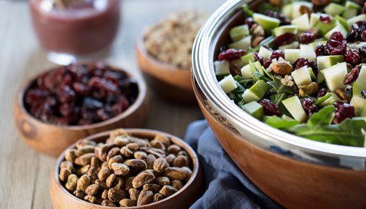 Sweet Arugula Quinoa Salad