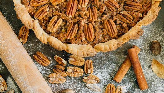 Skinny Pecan Pie