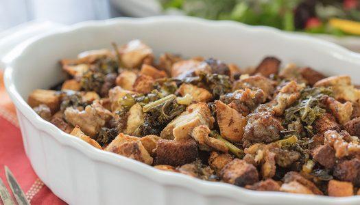 Sausage Kale Fennel Stuffing