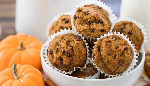 Nourish Protein Pumpkin Muffins