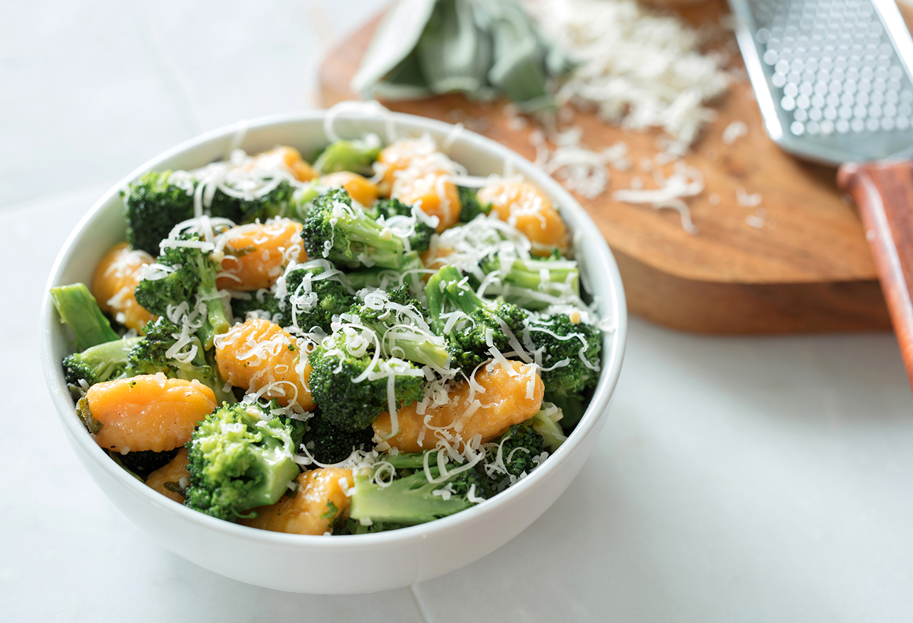 Day After Thanksgiving Brown Butter Broccoli And Sweet Potato Gnocchi