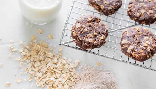 Nourish No-bake Nutella Protein Cookies