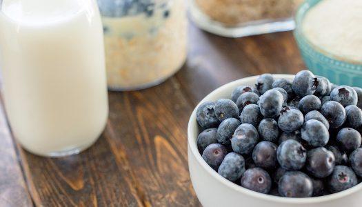 Nourish Blueberry Overnight Oats