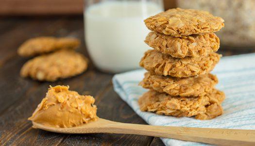 Nourish No-bake Peanut Butter Cookies