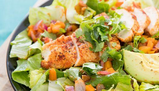 Salsa Chicken Salad