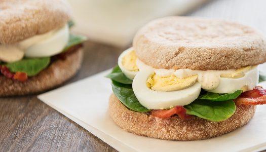 Lemon Garlic Breakfast Sandwich