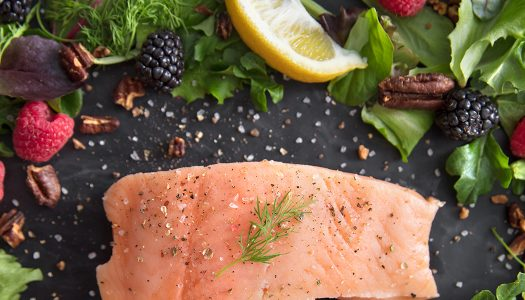 Whole30® Smoked Salmon Pecan Salad