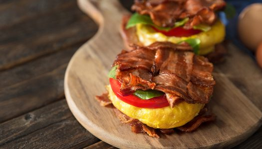Whole30® All The Bacon Breakfast Sandwich