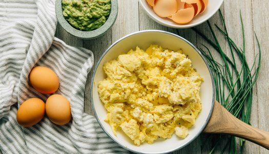 Keto Scrambled Eggs