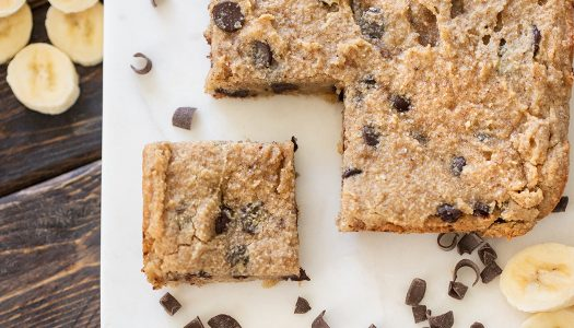 Paleo Banana Breakfast Bars