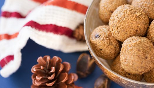 Paleo Pumpkin Power Balls