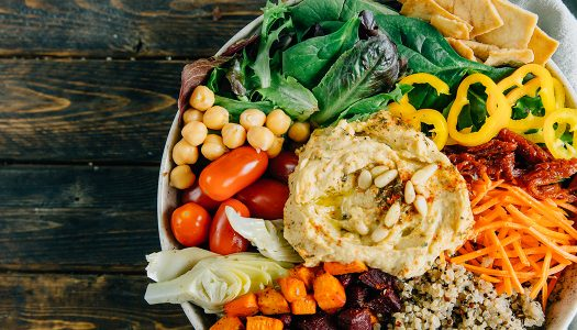 Loaded Mediterranean Salad