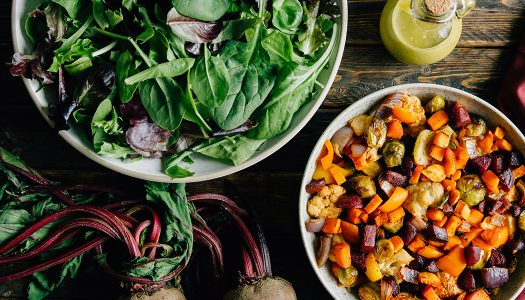 Roasted Rainbow Salad