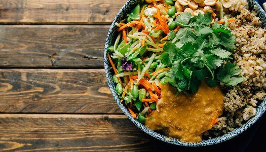 Peanut Thai Rice Bowl