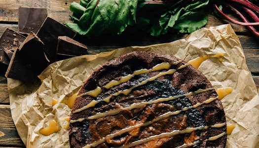 Vegan Chocolate Beet Torte