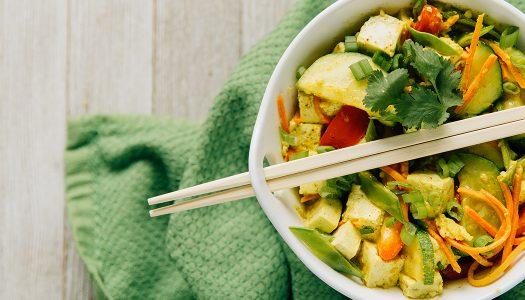 Vegan Curry Rice Bowl