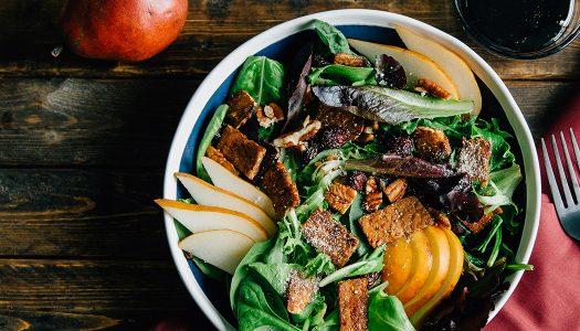 Vegan Smoky-and-sweet Pear Salad