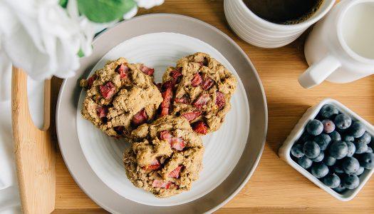 Nourish Vegan Strawberry Protein Biscuits