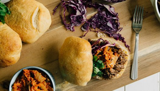 Instant Pot Korean Beef Sandwiches
