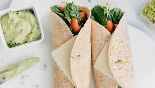 Avocado Garden Wrap