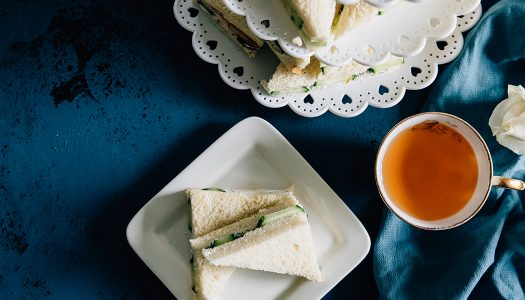 Turkey Dill and Cucumber Tea Sandwiches