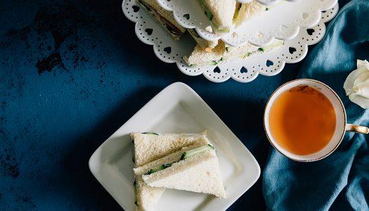 Turkey Dill and Cucumber Tea Sandwiches