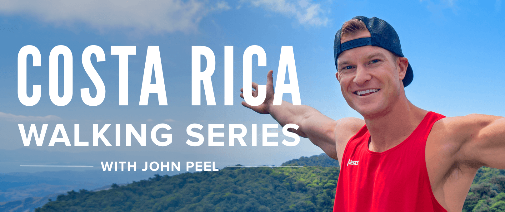iFit Costa Rica Walking Series with John Peel walking workouts