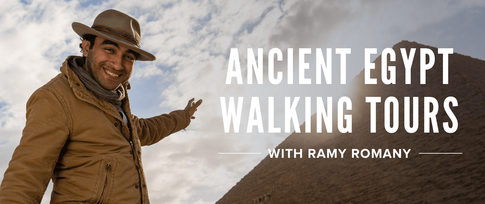 iFit Ancient Egypt Walking Tours with Ramy Romany walking workouts