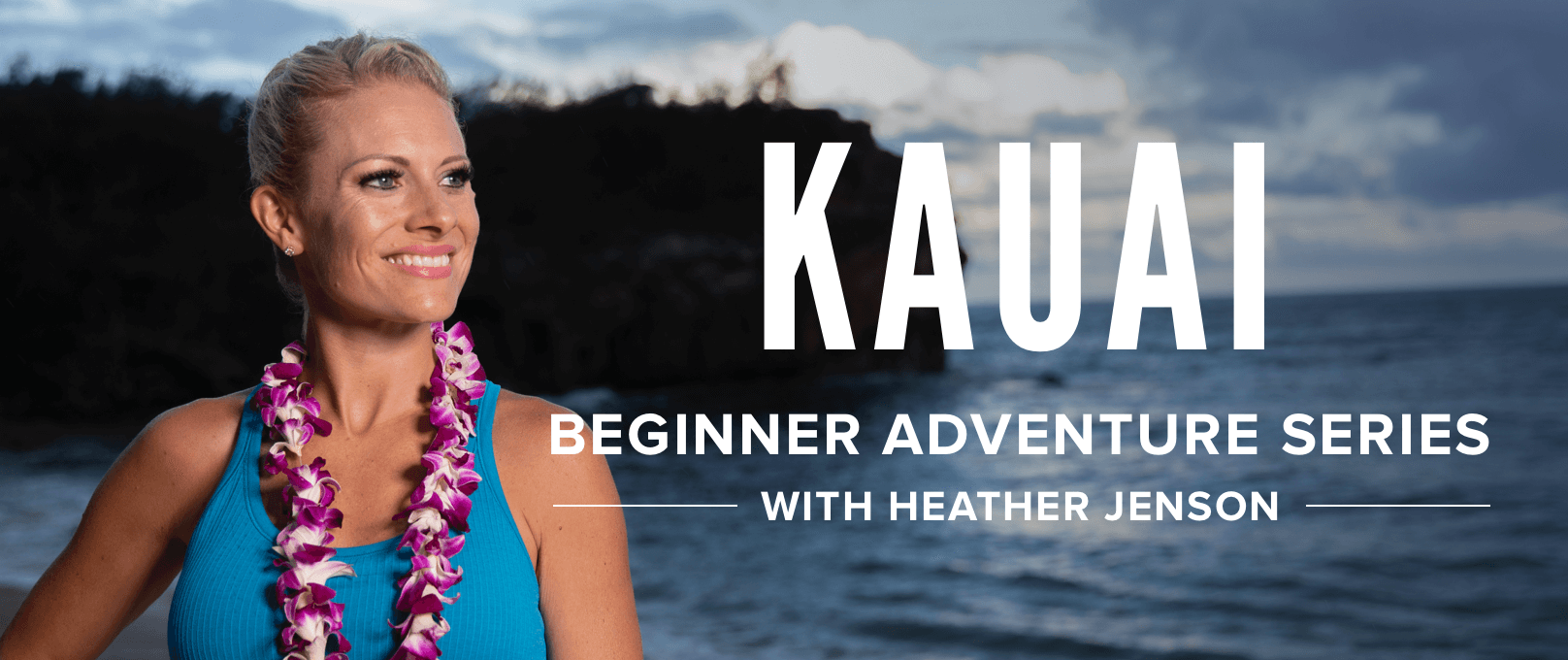 iFit Beginner Kauai Adventure Series with Heather Jenson walking workouts