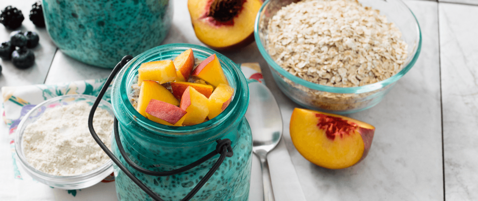 High-Protein Refrigerator Oatmeal
