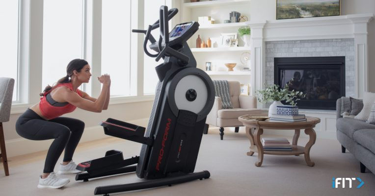 iFit elliptical HIIT workouts